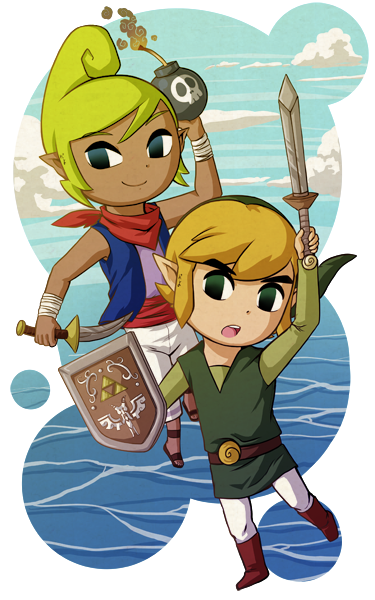 Tetra+Link: BATTLE ON! +SpeedPaint Video by Icy-Snowflakes