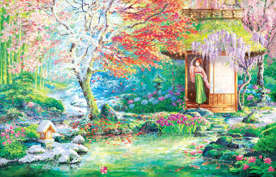 The Garden of Ever-Changing Seasons by sae-midori