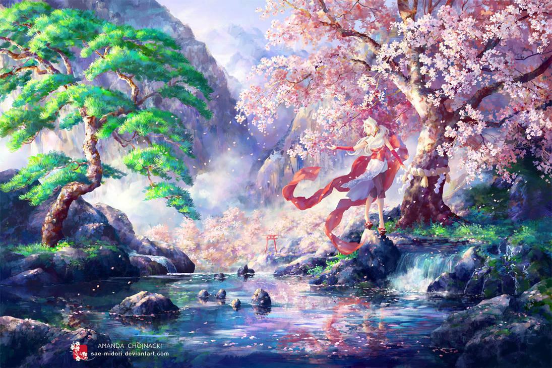 Kabegami - A Bridge of Hope by sae-midori