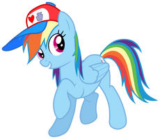 Dashie Likes Hats by LovableRobot
