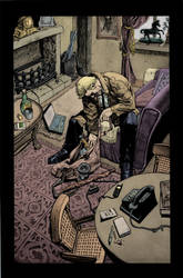 Hellblazer 259 page 2 by gammahed