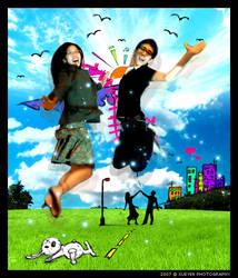 Jump' by xueyen