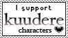 I support kuudere by VAlZARD