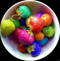 Rainbow Berries 2 by Flyingpear