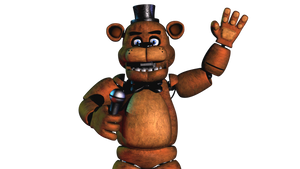 Classic Freddy Fazbear Model | Done by EndyArts