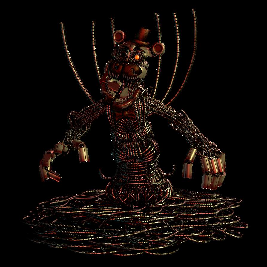 Molten Freddy V.2 By EndyArts On DeviantArt