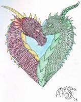 Dragon Heart by FlameShuken