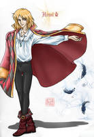 Howl the Wizard - Color by laiquendi-elf