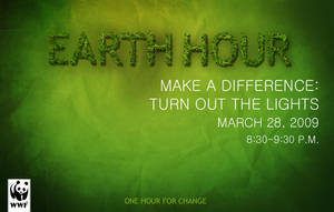 Earth Hour '09 by Ktmorphine