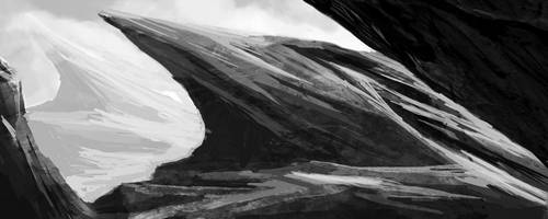 Speedpaint - Jaded Rocks by ColinVolrath