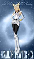 sailor Pewter Fox by silverflamephoenix1