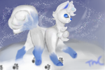 Snowy Trail. [Print for Sale] by I-Swear-Im-An-Artist