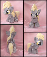 MLP FiM: Filly Derpy Hooves plushie by Rasaliina