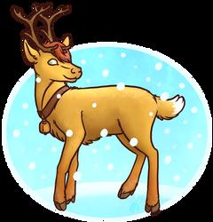 Oh deer by Rasaliina