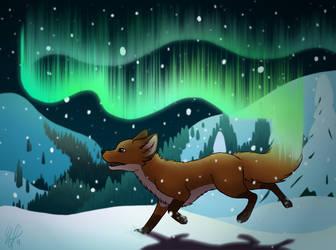 Northern Lights - Remake 2 by Rasaliina
