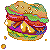 mold burger by tontoh