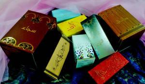 Perfume Boxes by nozibz