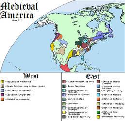 Medieval America WorldA by GottfreyUndRoy