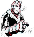 Hellboy by Jayson-kretzer