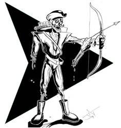 Green Arrow Zombie by Jayson-kretzer