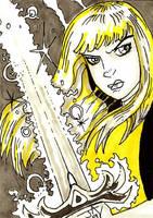 Magik Sketch Card by Jayson-kretzer