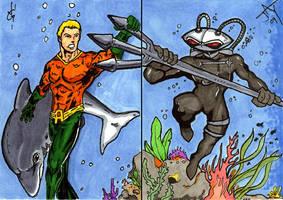 Sketchcard Duel by Jayson-kretzer