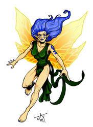Fairy Basecard by Jayson-kretzer