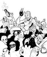 Abe Versus Zombies by Jayson-kretzer