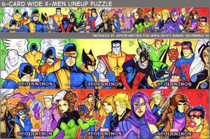 X-men Lineup by Jayson-kretzer