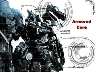 Armored Core Desktop by alpha-the-ruler