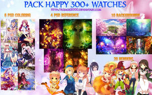 [PACK] HAPPY 300+ WATCHES by IceAge-DA