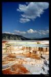 Mammoth Hot Springs by sogoodinblue