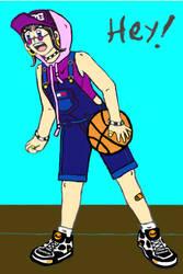 Basketball Girl by MLBlue