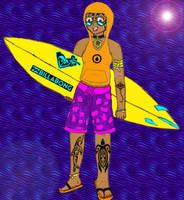 Surfer Girl Tattoos by MLBlue