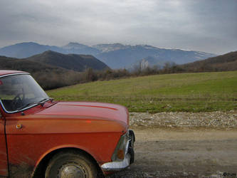 Way.Car.Panorama by iHusy