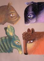 animals by hadrocodium