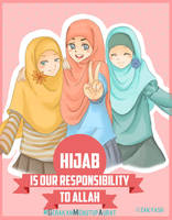 hijab is our responsibility to Allah swt by zakyash