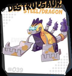 039 Destrucsaur by EventHorizontal