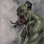 Warmup Orc 3 by IlGoblin