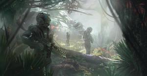 Way through the jungle by HelenIlnytska