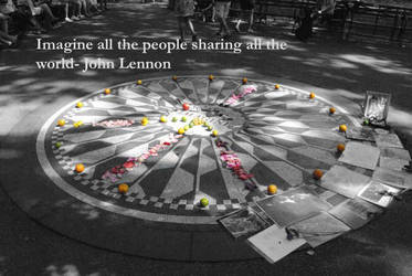 John Lennon - Imagine by AubreyJones92