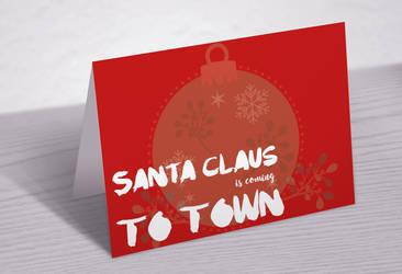 Santas Coming To Town by AubreyJones92