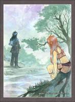 ..::Kanua and Alathen::.. by Megan-Uosiu