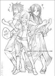 ..::Astir, Sai and Jidai::.. by Megan-Uosiu