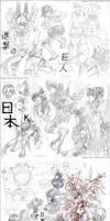 Sketches_052 Japan Expo by Megan-Uosiu