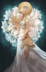 ..::Lily Angel::.. by Megan-Uosiu