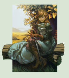 ..::Brave Knight::.. by Megan-Uosiu