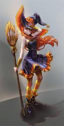 ..::Lovely Witch::.. by Megan-Uosiu