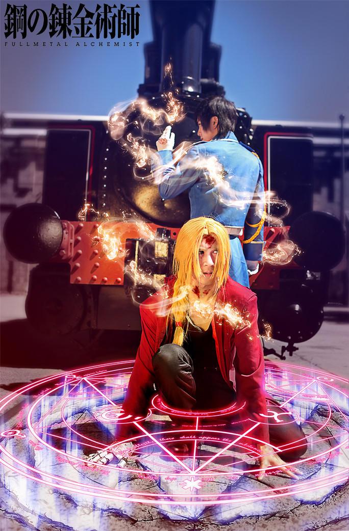 FullMetal Alchemist: Flame and Metal Alchemist by RaikouCos