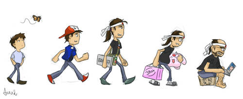 Evolution of Otaku by jarnik84